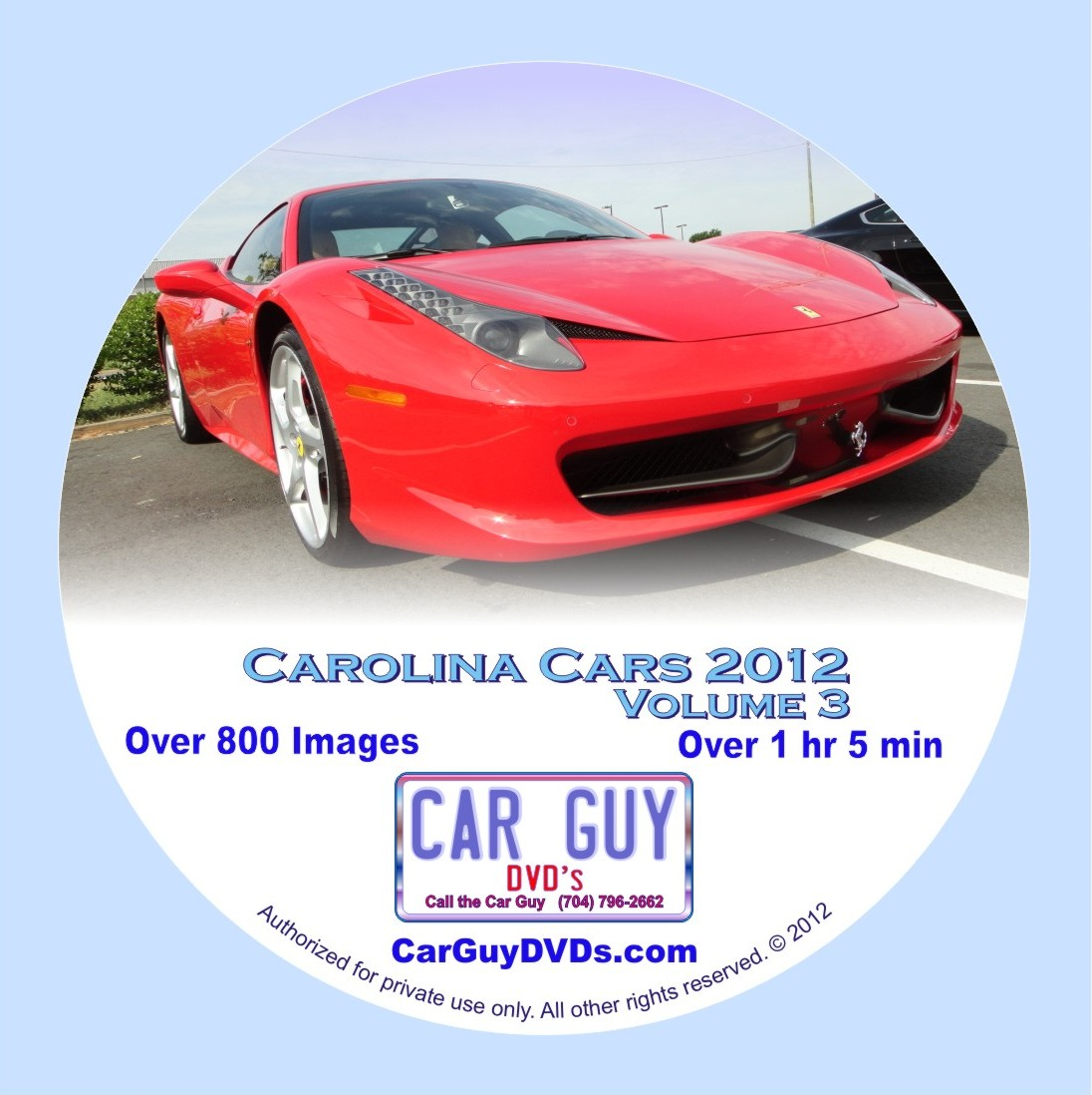 Carolina Cars 2012 Volume 3